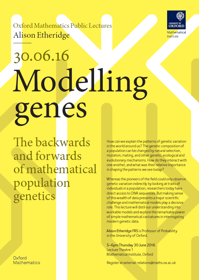 Posters For Public Lectures Mathematical Institute