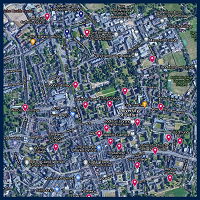 A map of Oxford