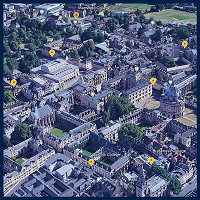 A 3D model of Oxford