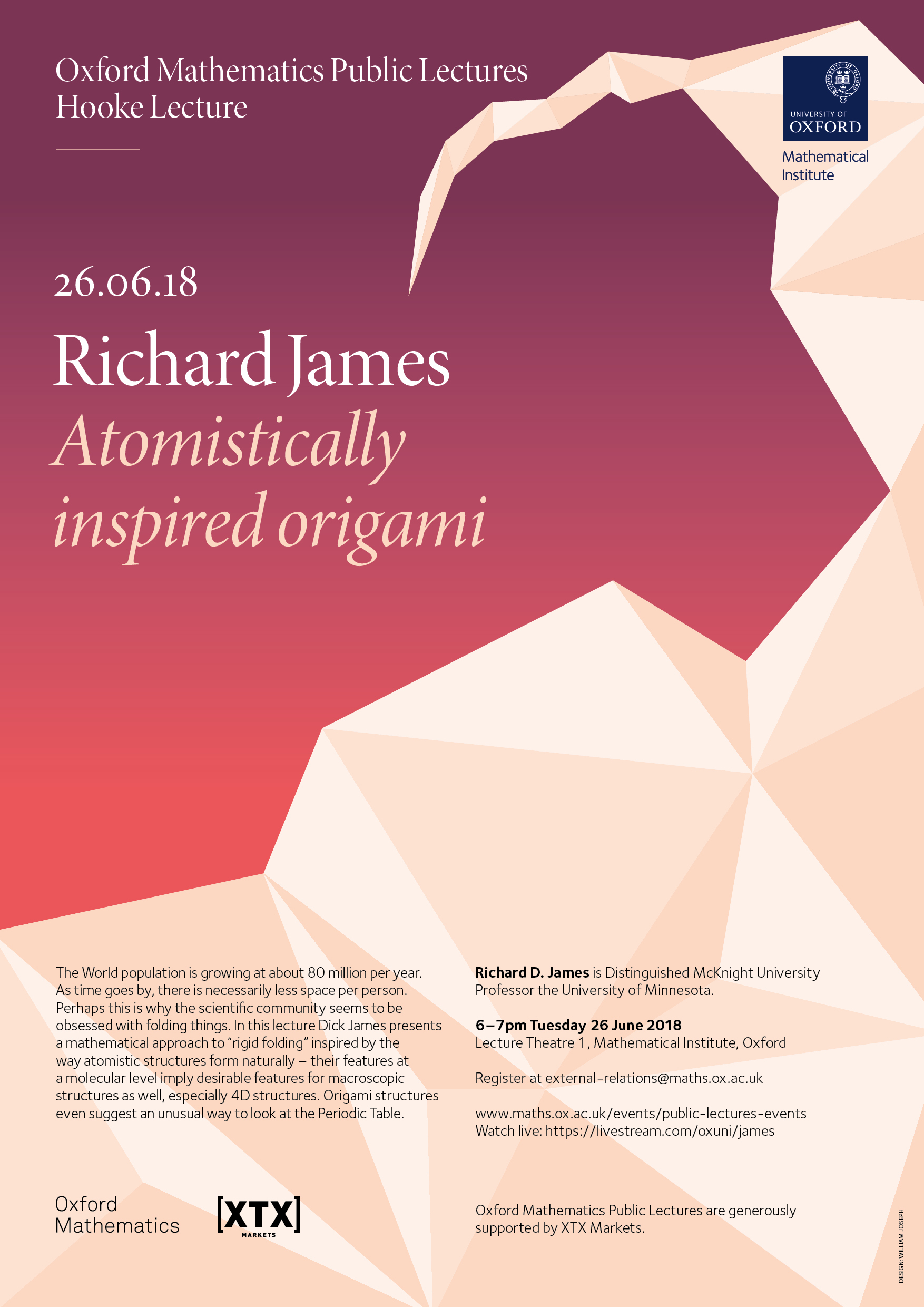 posters for public lectures