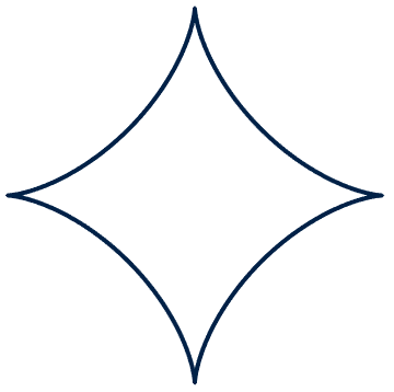 An astroid; a shape with four sides that curve inwards, meeting at four spiky corners.