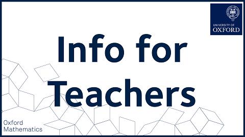 Info for Teachers