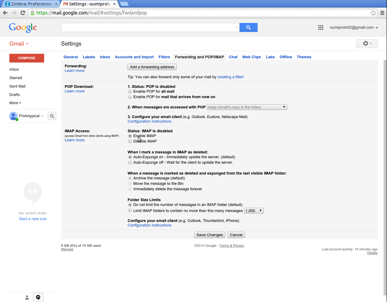 how to download mail from gmail account